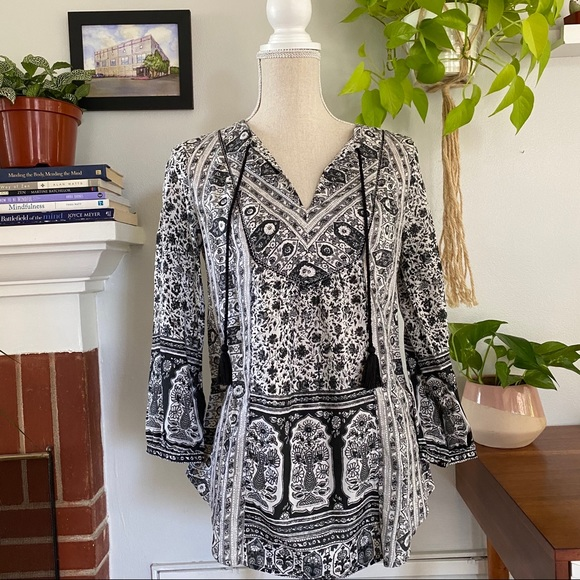 Lucky brand | 3/4 sleeve blouse size XS